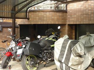 【朝食付】オートバイ駐輪場付きプラン