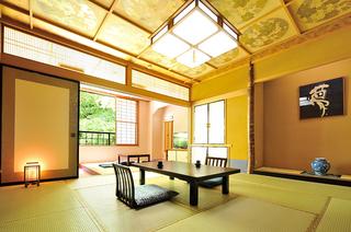 準特別室【夢の間】和室12.5畳+掘りごたつ+檜風呂