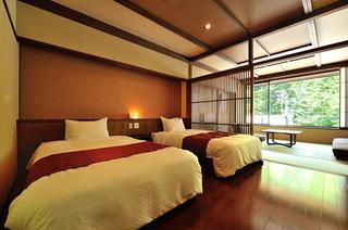 【特別室 山ぼうし】和室10畳+ベッドルーム+専用露天風呂
