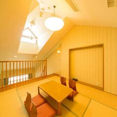 ロフト(和洋室)〜ダブルベッド&ロフト和室