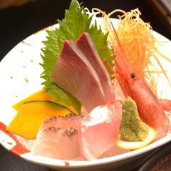 【魚も肉も存分に味わえる!】お刺身プラス金目のしゃぶしゃぶプラス牛肉ステーキ付き【アッパレしず旅】