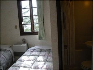 ツインのバストイレ付1泊素泊まりプラン