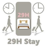 【楽天スーパーSALE】5%OFF 29時間ステイ 素泊り <朝食なし> 10時イン 翌15時アウト