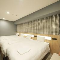 【禁煙】フォース■23.9平米■ベッド幅110cm×2台