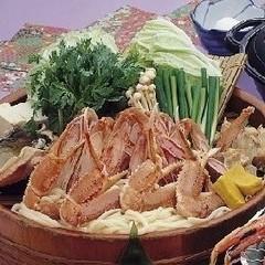【価格重視!】松葉がに・ズワイガニ かにすき鍋コース