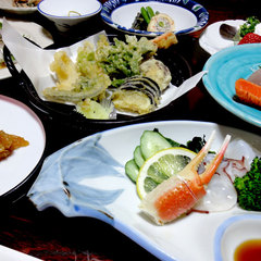 【平日限定】秘湯×旬の食材を使用した島根グルメを堪能★特典付※現金特価※