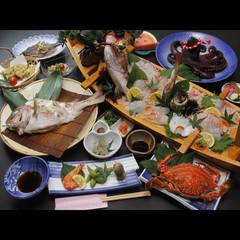 【篠島満喫♪】鯛1匹丸ごと酒蒸しと贅沢海鮮料理★[1泊2食付]