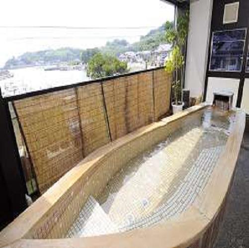 展望風呂/貸切も可能です(50分/1080円)