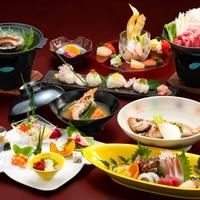 【★美覚特選★】<量より質にこだわりました♪>のどぐろ&見蘭牛&あわび&団扇海老など高級食材に舌鼓。