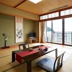 【日本海絶景☆最上階和室】菊ヶ浜の景色を独り占め♪和室10帖