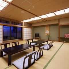 【大家族・グループ旅行に♪】城下町側客室/大部屋和室20帖