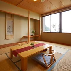 ■和室10〜12帖■日本海一望〜菊ヶ浜の風景を望む〜