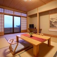 ◆禁煙◆【日本海一望】菊ヶ浜の風景を望む♪最上階和室