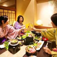 【★当ホテルの人気特典Best7★】プライベートなご夕食と酸素カプセルなどの癒し特典付で<贅沢旅♪>
