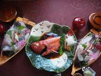 【特撰ディナー】伊豆の味覚を堪能!お造り・金目鯛コース