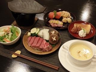 【特選和牛】近江牛フィレを陶板焼きで楽しむプラン (1泊2食付)