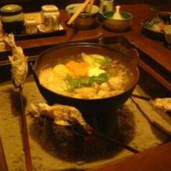 ◆5種類から選べるお鍋◆豊後牛しゃぶしゃぶ/夢ポークみぞれ鍋/ハーブ鶏白湯鍋/鴨鍋/豊後牛もつ鍋♪