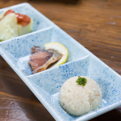 【平日限定リーズナブルプラン】夕食はお手軽山里料理♪『壱の膳 猟師岳』