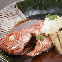 【金目鯛まるごと1尾!】せっかくの旅行だから贅沢したい「金目鯛の煮付けプラン」(1泊2食付)