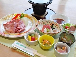 ≪道産和牛石焼き付≫ご夕食アップグレードプラン(夕朝2食付)