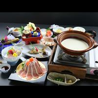 スタンダード◆彩り豊かな手作り豆腐会席を味わう◆大山の自然感じる癒しの時間を…♪≪2食付≫