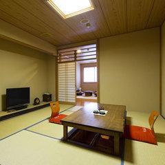 【喫煙室】 内湯付き和室 ◆10畳間+3畳間+内湯◆