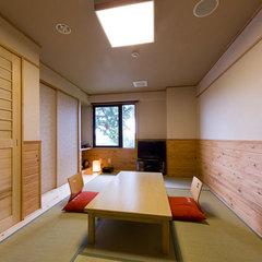 【禁煙室】 内湯付き和室 ◆7畳間+内湯◆