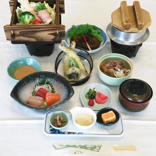 【喜三郎プラン】源泉かけ流し温泉と手作り料理に舌鼓<2食付>