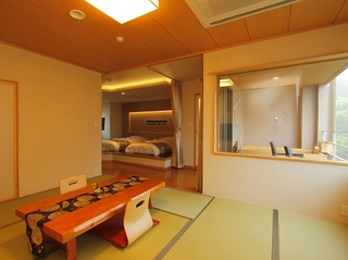 【8畳+ベッドルーム】温泉露天風呂付スイート(将星・煌星)