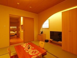 【8畳+ベッドルーム】温泉露天風呂付スイート(牽牛・七夜)