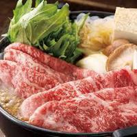 【当館人気NO1・選べるいわて奥州牛プラン(2食付き)】自慢の牛肉をしゃぶしゃぶorすき焼きで堪能!