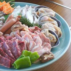【スタンダードBBQ肉&海鮮】海を眺めながらジュージュー!豪快に食べよう♪