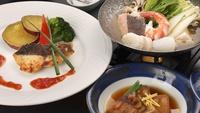 お手軽会席【飛騨古川御膳】<メインは自慢の海鮮料理>お肉が苦手な方も安心のおすすめ夕食♪