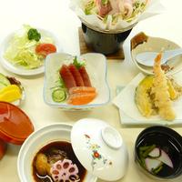 【梅|夕食のみ】ビジネス・小食の方向け!夕食は通常料理より1品少ないライトコース[現金特価]
