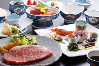 【ステーキ】なんと!!ステーキ付で11,000円【岐阜っぽプラン】