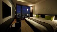 【ツインルーム限定】高層階28〜29階!大浴場完備のホテルでくつろぎステイ 朝食付