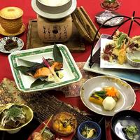 【八雲山里膳】お気軽プラン・出雲地方の四季の膳をご提供