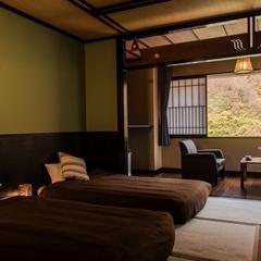リバービュー・和室ベッドルーム / 32平米・バス付