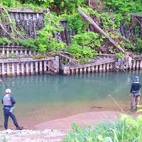 【手軽に渓流釣り体験プラン】渓流釣りで自然を満喫♪魚釣り&旬の味覚に舌鼓♪1泊2食付き