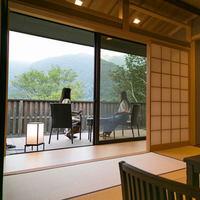 【富山の贅を堪能】かけ流し露天風呂付き客室「立山別邸 四季彩」富山の旬を贅沢に満喫。