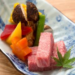 楽天限定【ポイント10倍】(1)【「お食事処」で豪華京会席♪】選べる飛騨牛料理『円かの杜スタイル』
