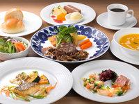 【ホテルで夕食】コースメニューの夕食付きプラン■2食付き
