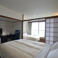 【セパレートツインルーム】120cmセミダブルベッド