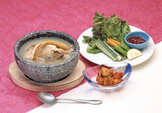 和食も韓国料理も食べたい!☆サムゲタン付和韓折衷会席プラン