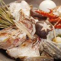 【秋限定!】鯛の宝楽焼コース