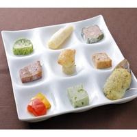 【標準価格プラン】9種の前菜を含む美食家ディナーコース(1泊2食)