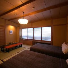 【新館】和室 8畳 ベッド付