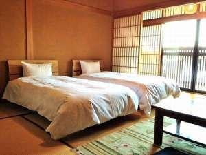【新館】和室 8畳(お風呂なし) ベッド付