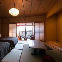 【新館】和室 10畳+広縁  ベッド付