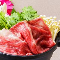 ◆貸切露天風呂とお肉を堪能♪ステーキと和牛すき焼きプラン